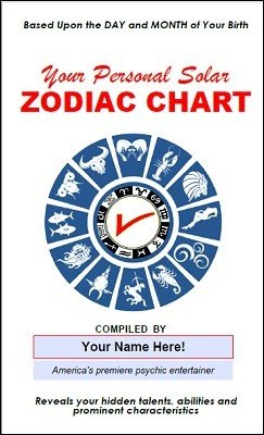 Your Personal Solar Zodiac Chart Pitch Book Kit by B. W. McCarron