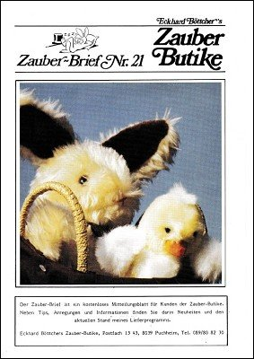 Zauber-Brief Nr. 21-30 by Eckhard Böttcher